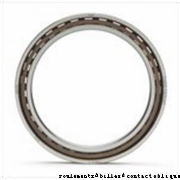 17 mm x 40 mm x 17,5 mm  ISB 3203-ZZ roulements à billes à contact oblique