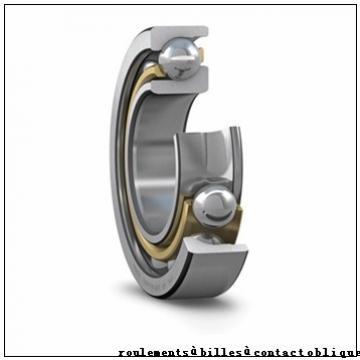 30 mm x 62 mm x 16 mm  NSK 7206 C roulements à billes à contact oblique