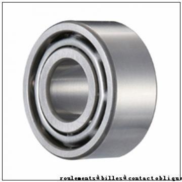 90,000 mm x 190,000 mm x 43,000 mm  SNR QJ318N2MA roulements à billes à contact oblique