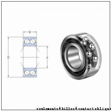 30 mm x 62 mm x 16 mm  NTN 7206BDF roulements à billes à contact oblique