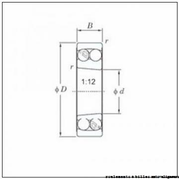 35 mm x 72 mm x 17 mm  NACHI 1207 roulements à billes auto-aligneurs