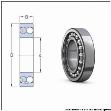 70 mm x 125 mm x 24 mm  NKE 1214 roulements à billes auto-aligneurs