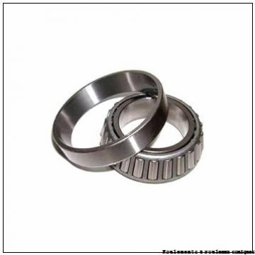 50,8 mm x 92,075 mm x 25,4 mm  NSK 28580/28521 Roulements à rouleaux coniques