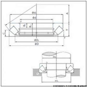 300 mm x 360 mm x 25 mm  IKO CRBC 50040 roulements à rouleaux de poussée
