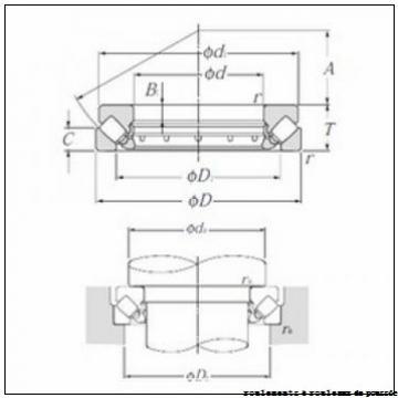 NKE 292/670-EM roulements à rouleaux de poussée