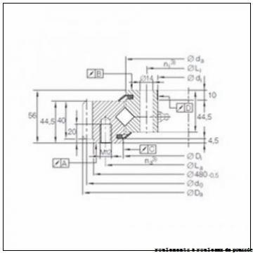NKE K 81106-TVPB roulements à rouleaux de poussée