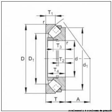 NTN 2P1201 roulements à rouleaux de poussée