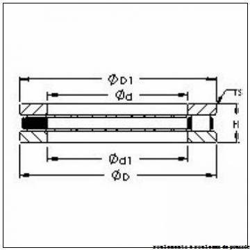 KOYO NTH-3864 roulements à rouleaux de poussée