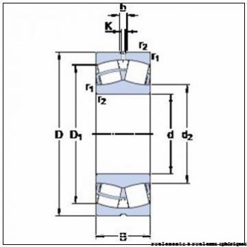 34,925 mm x 16,51 mm x 69,85 mm  NMB ASR22-2A roulements à rouleaux sphériques