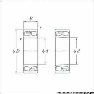 55 mm x 100 mm x 25 mm  ISO 22211 KW33 roulements à rouleaux sphériques