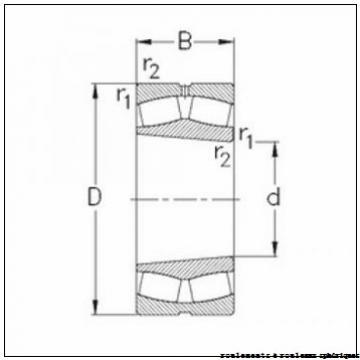 200 mm x 360 mm x 98 mm  ISO 22240 KCW33+AH2240 roulements à rouleaux sphériques
