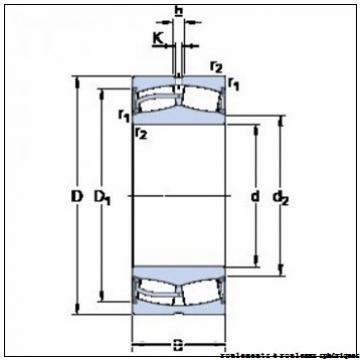 150 mm x 250 mm x 100 mm  FAG 24130-E1-2VSR-H40 roulements à rouleaux sphériques