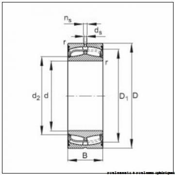 480 mm x 790 mm x 248 mm  FAG 23196-K-MB + H3196-HG roulements à rouleaux sphériques