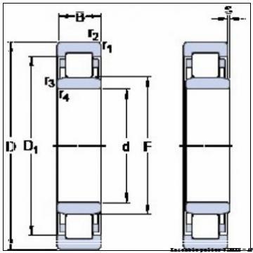 HM127446  HM127417XD  Cone spacer HM127446XB Ensemble roulement à rouleaux coniques